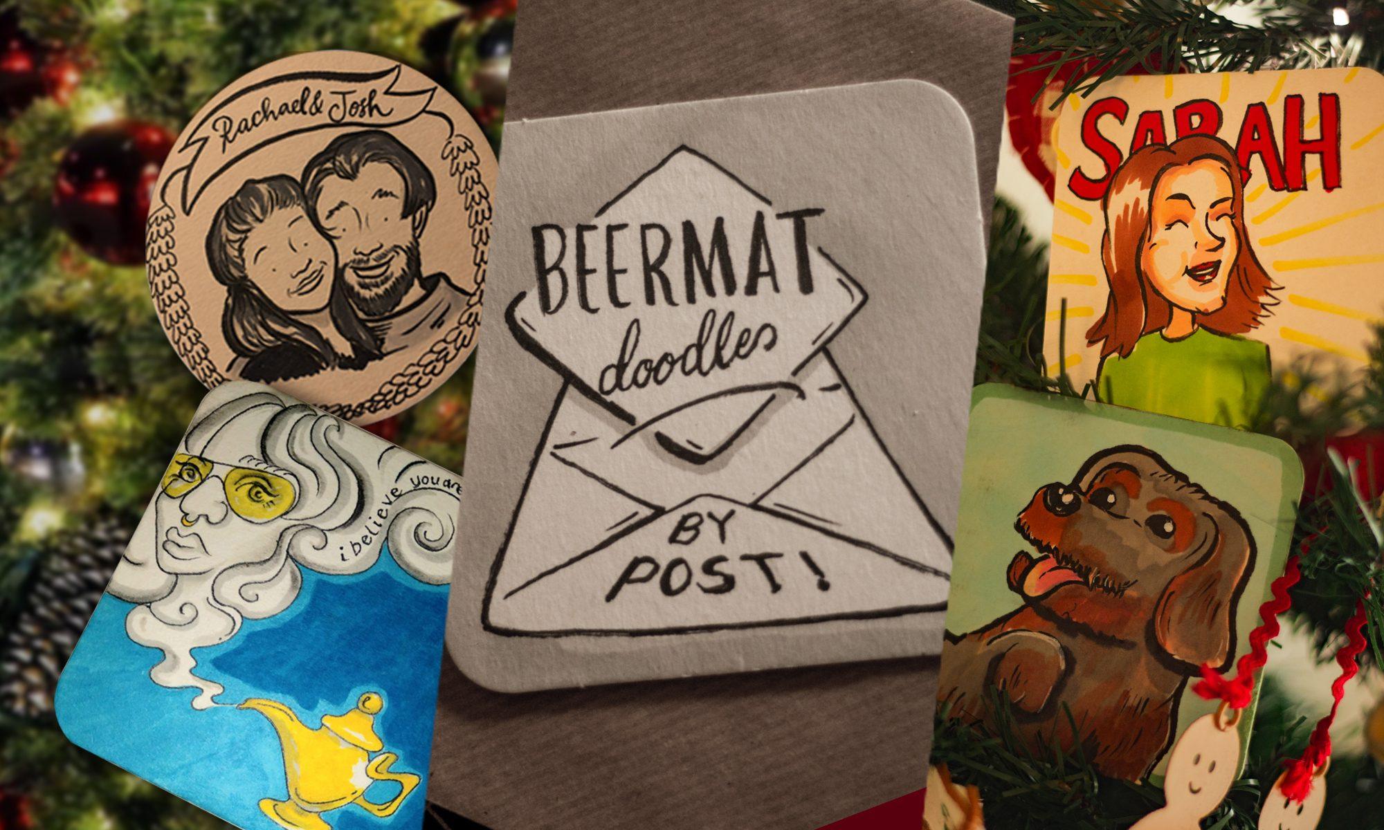 Beermat Doodles